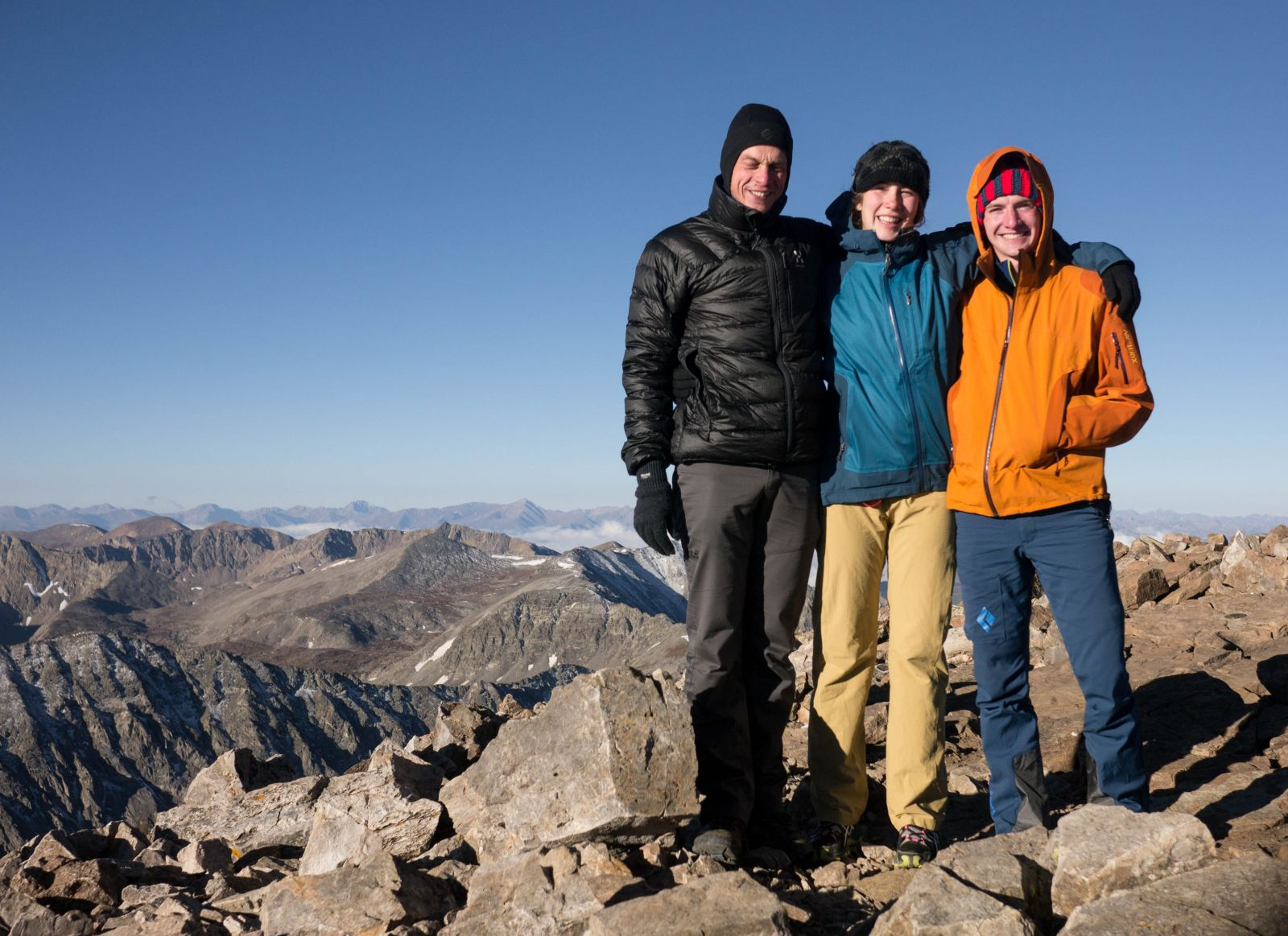 Summit of a 14er